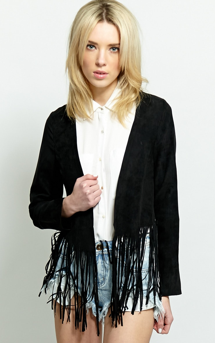 Sharn Black Tassel Jacket 1