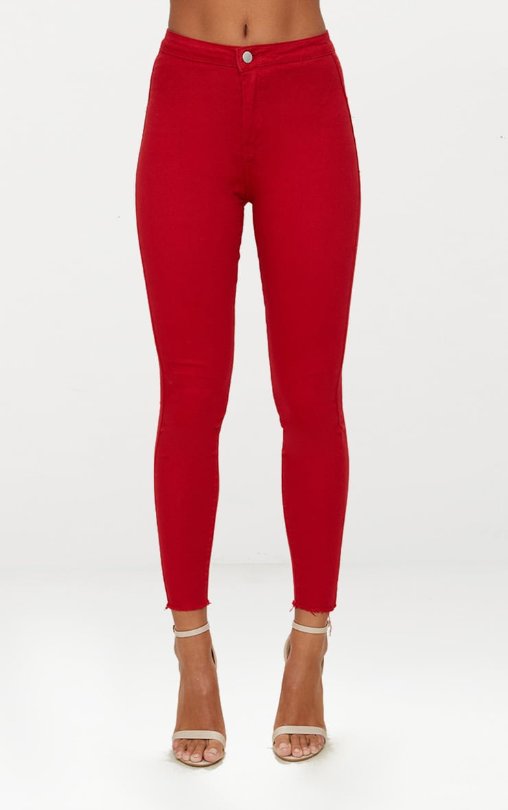 Red Disco Jean 6