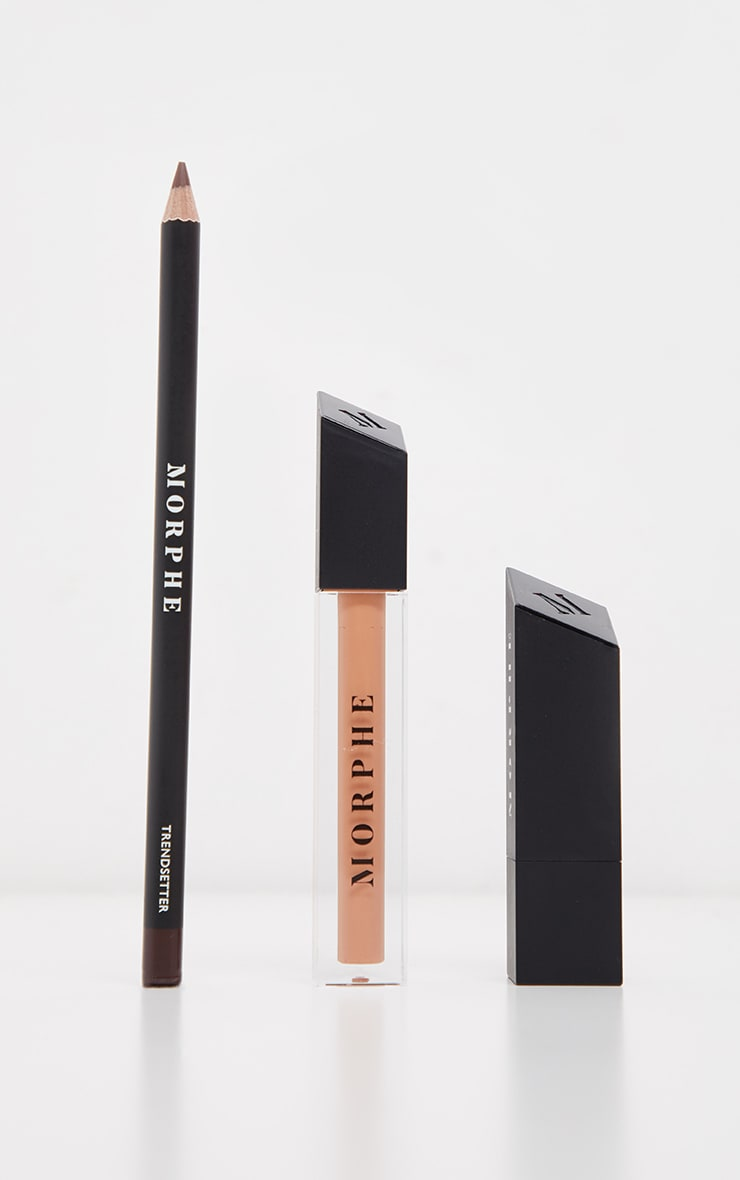 Morphe Out And a Pout Lip Trio Caramel Nude 2