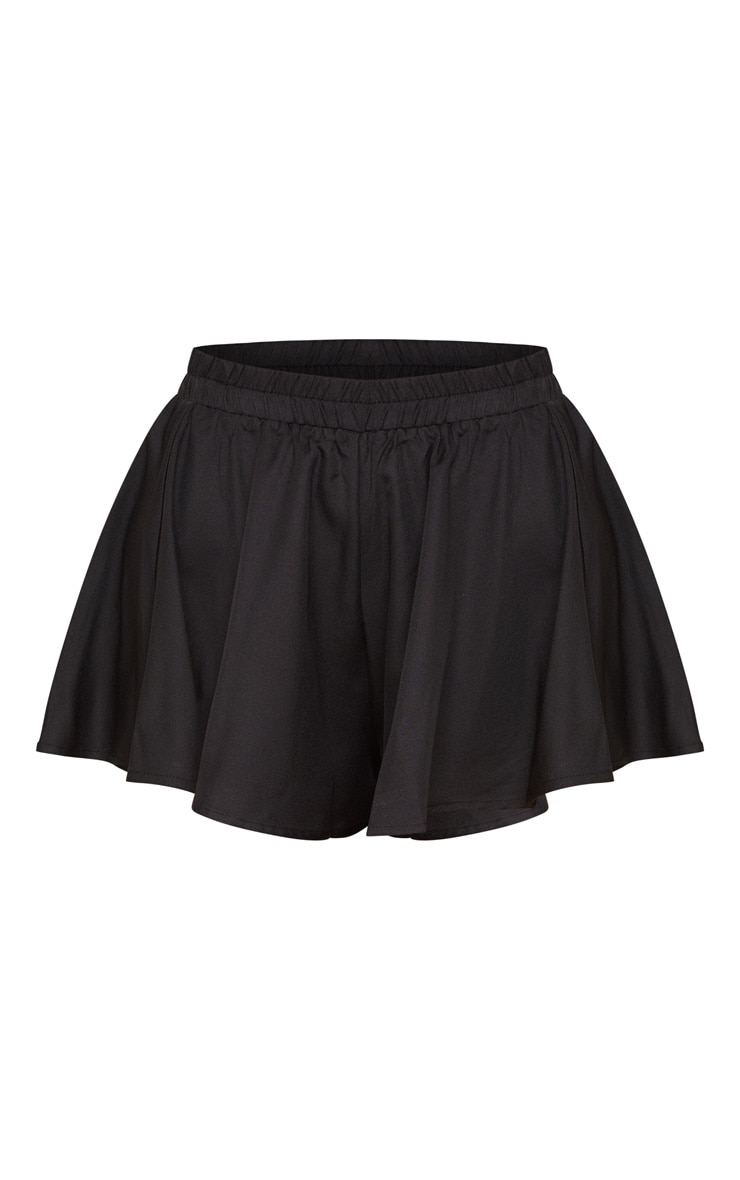 Black Floaty Short 3