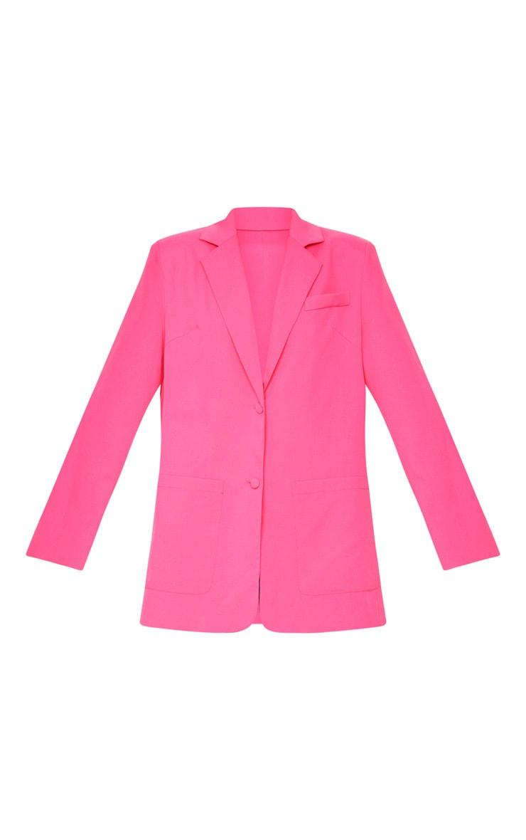 Pink Extreme Oversized Blazer 6