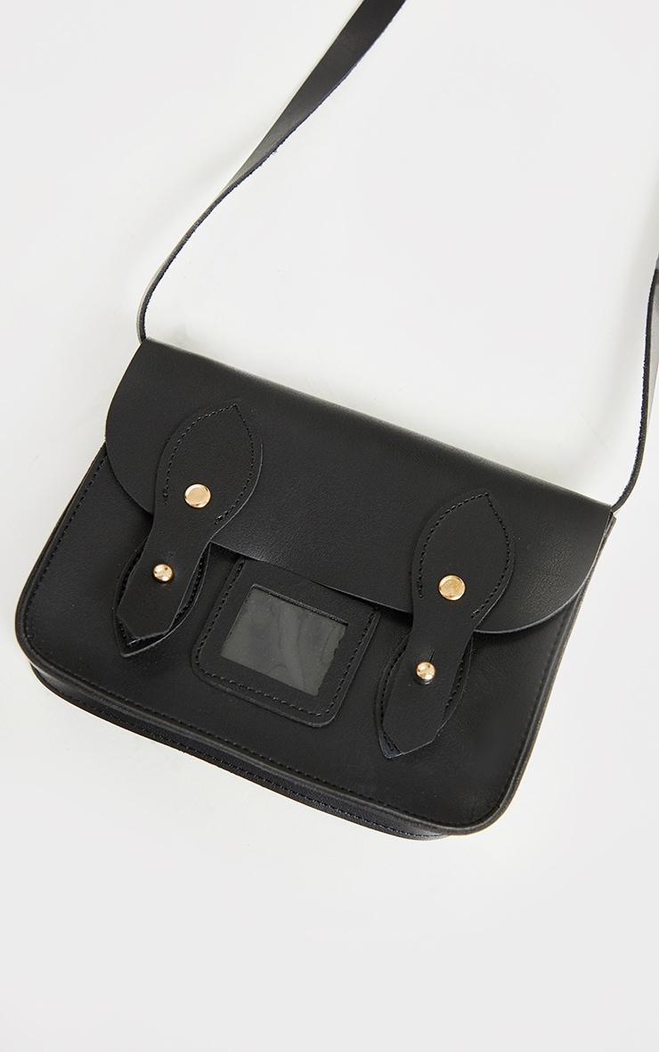 Mini sac à bandoulière noir 3