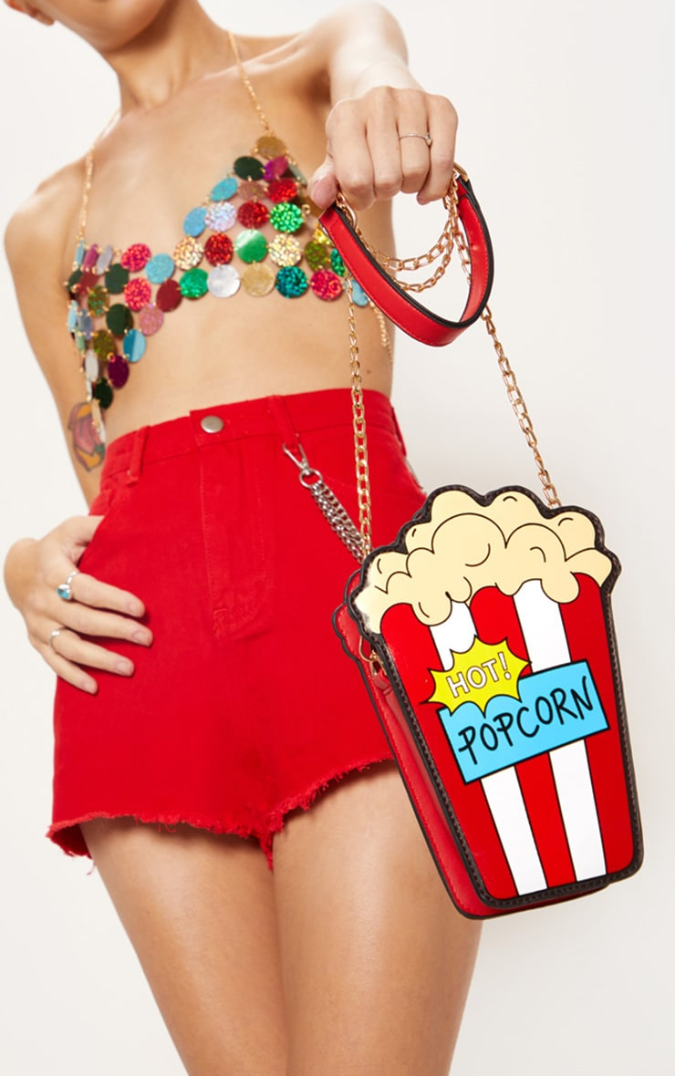 Multi Hot Popcorn Cross Body Bag 1