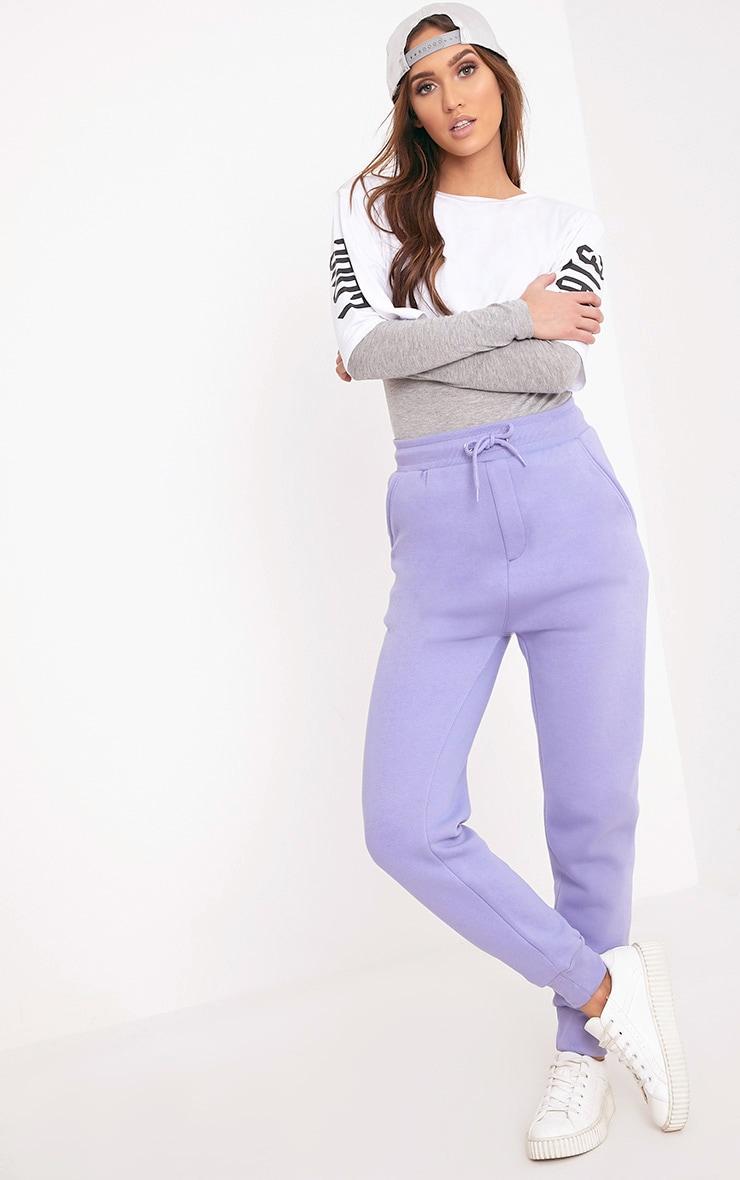 Bruna Lilac Sweat Joggers 1