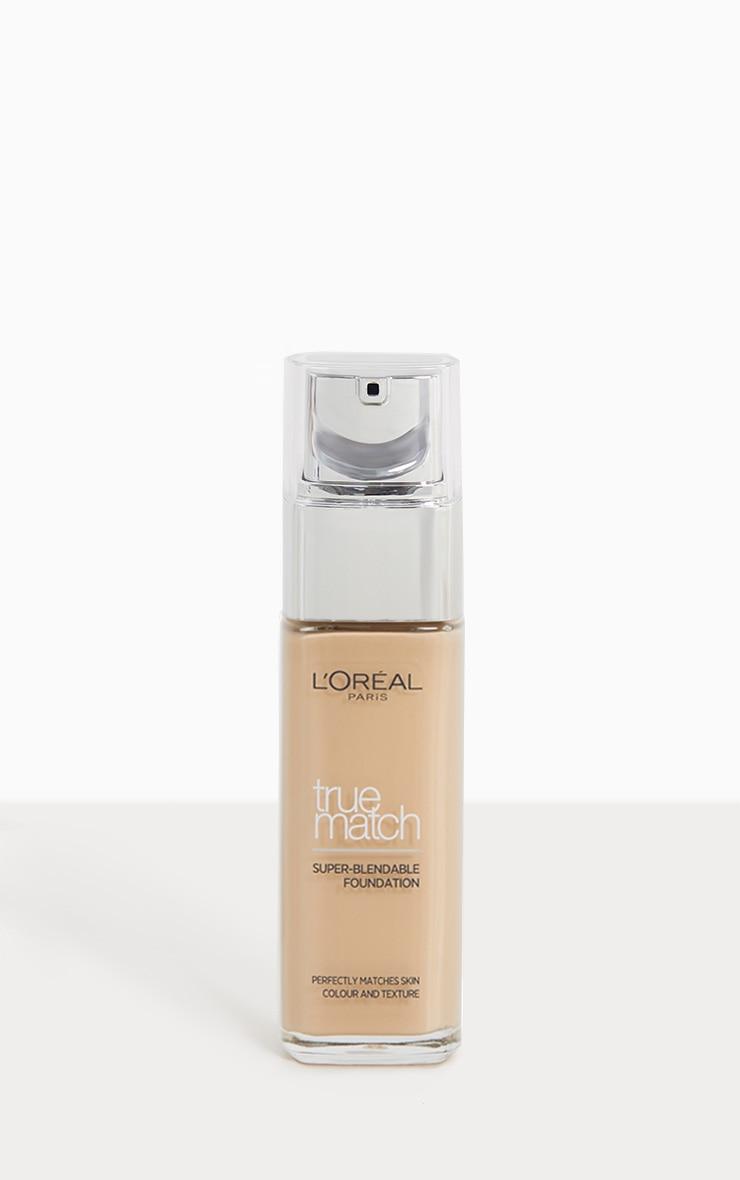 L'Oréal Paris True Match Foundation 1W Golden Ivory 1