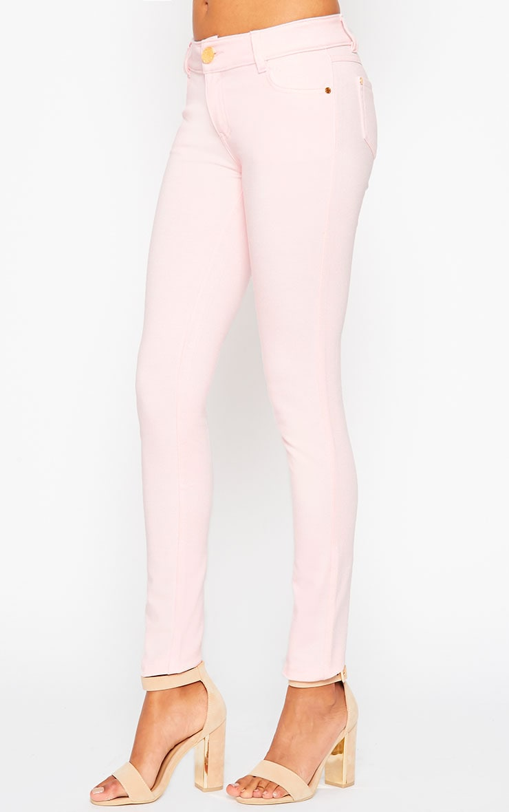 Baby Pink Jeggings 4