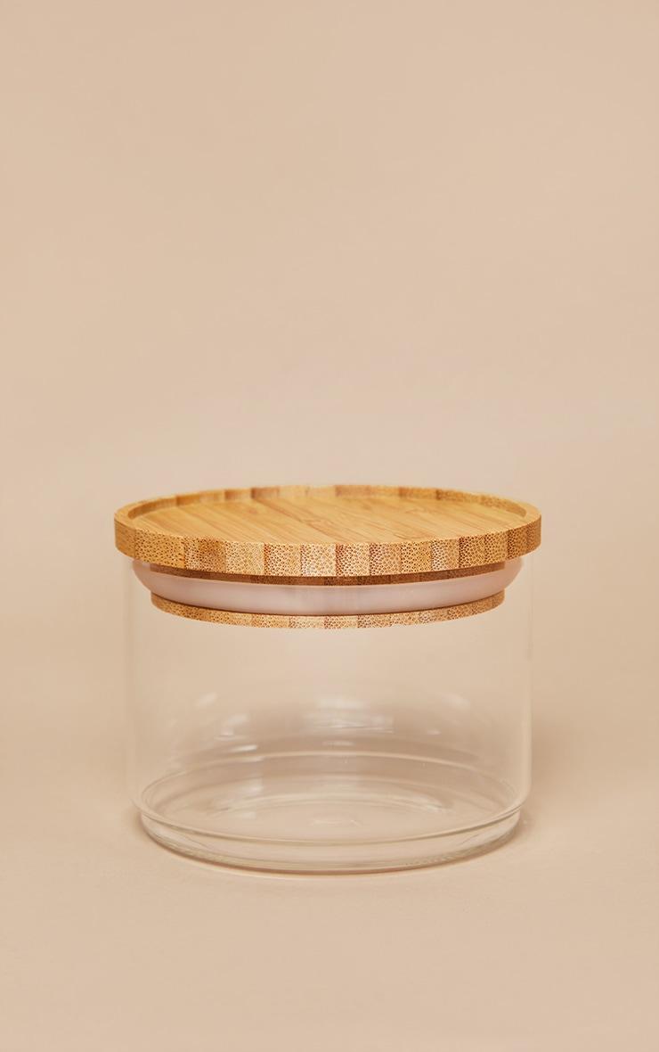 Stacking Glass Storage Jars 3 Pack 4