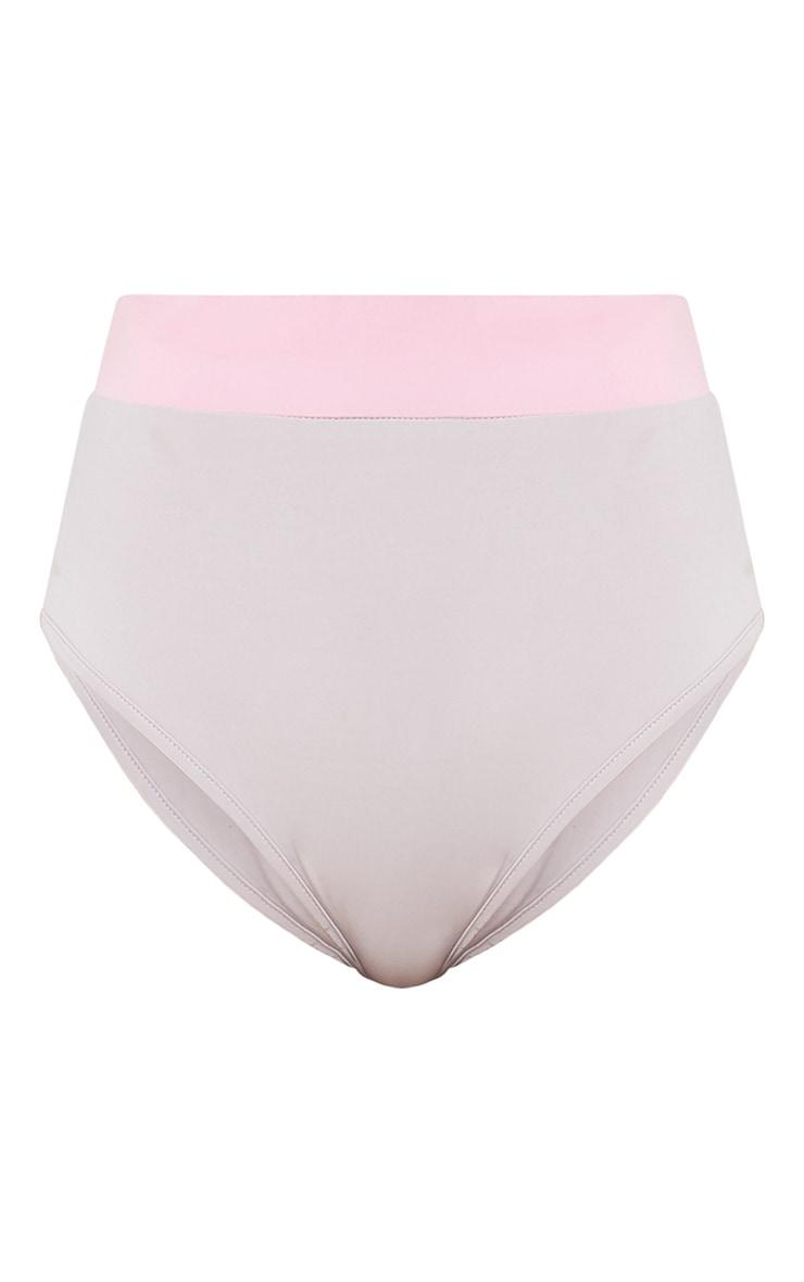 Neya Pink Scuba Contrast Beach Co-Ord Bottoms 3