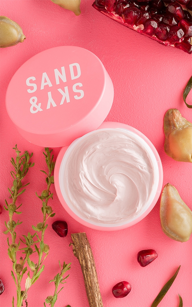 Sand & Sky Australian Pink Clay Porefining Face Mask Travel Size 1