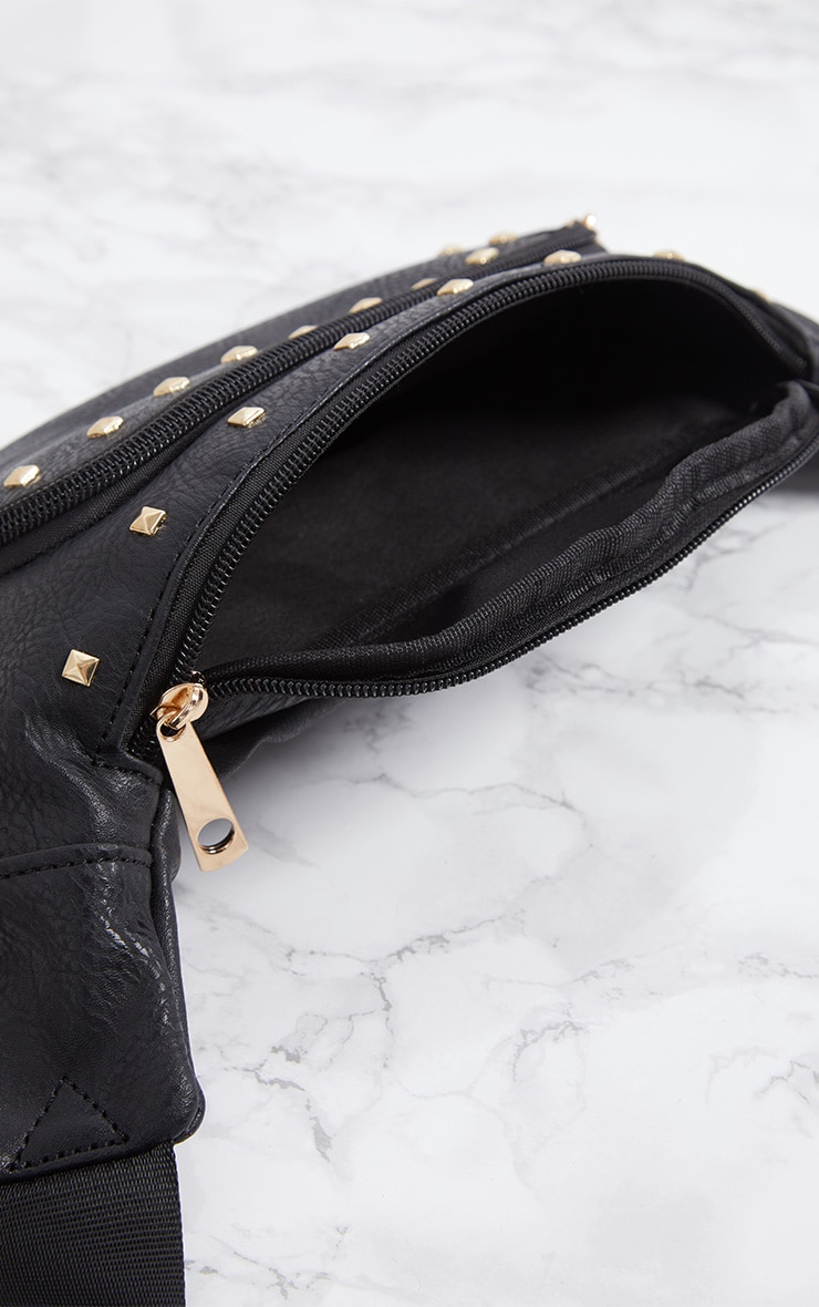 Black Stud Bum Bag 6