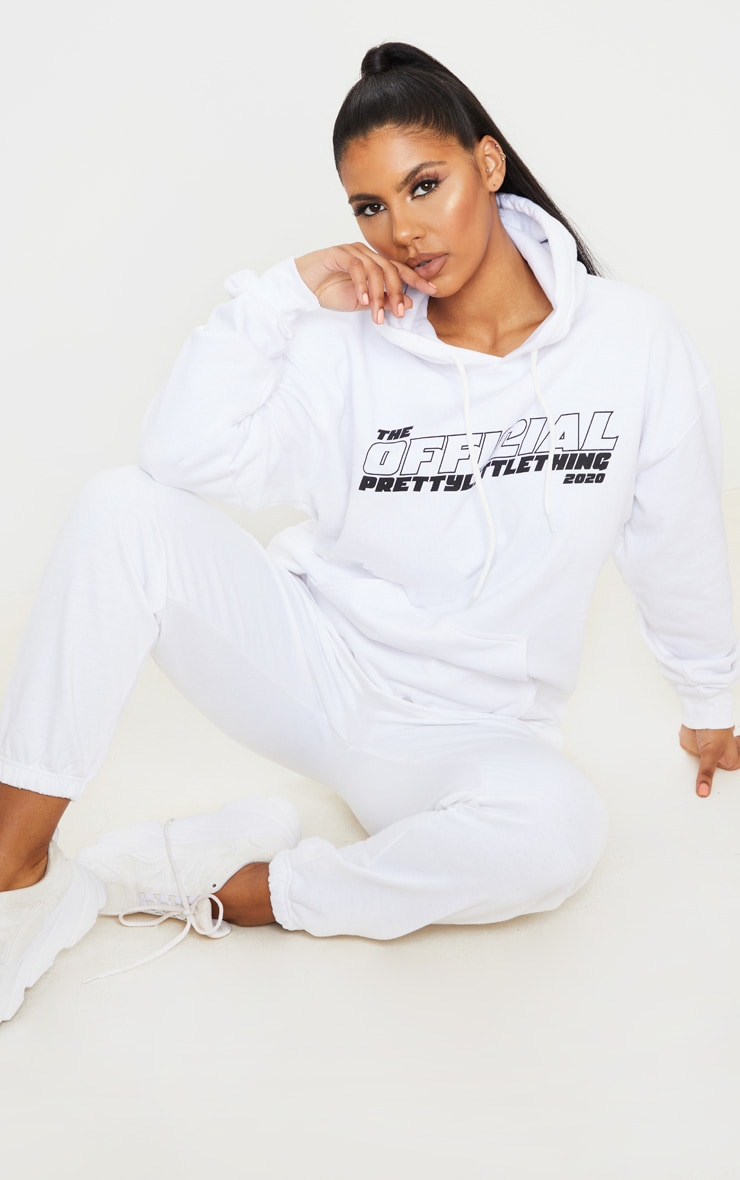 PRETTYLITTLETHING White The Official 2020 Hoodie 3