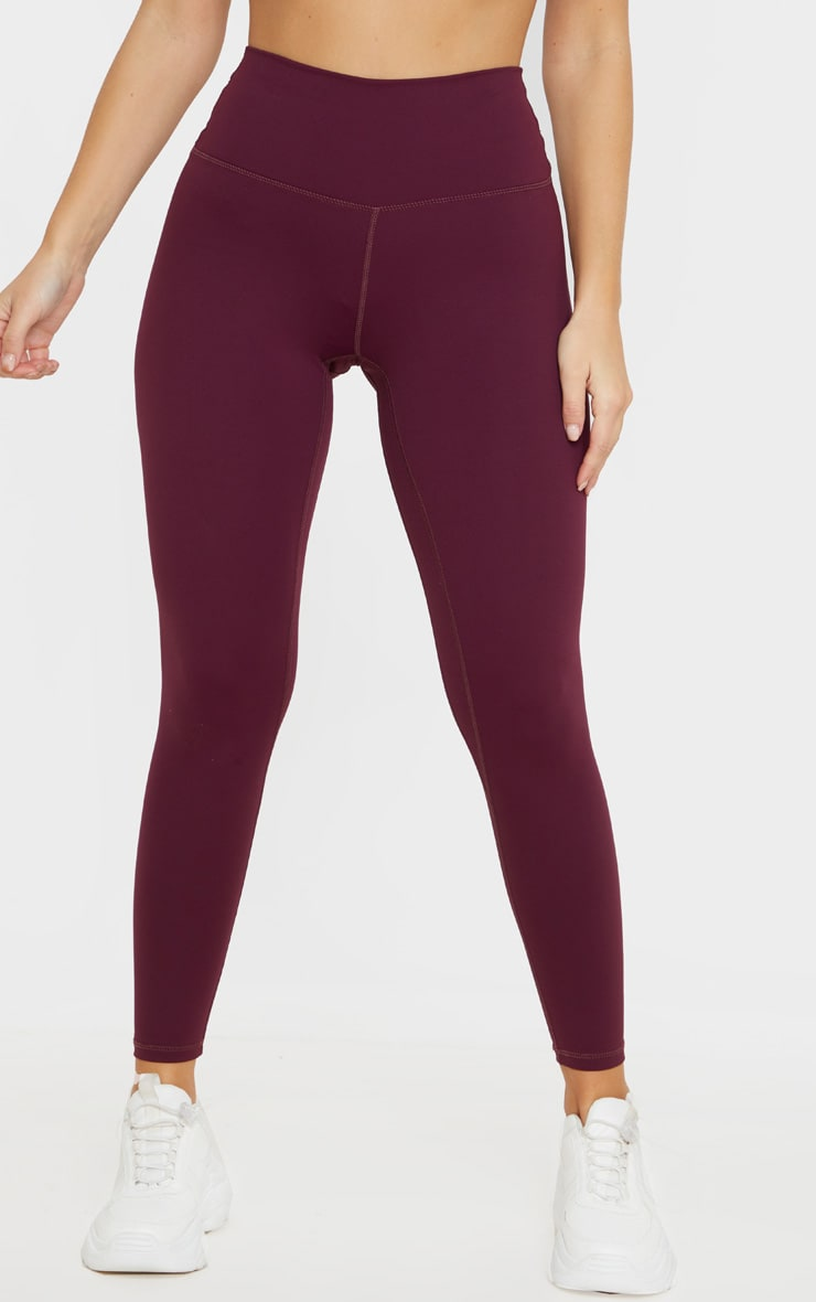 Berry Sculpt Luxe High Waist Gym Legging 2