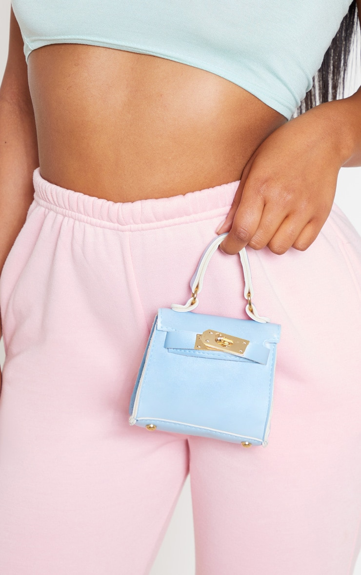 Powder Blue Micro Mini Bag 2