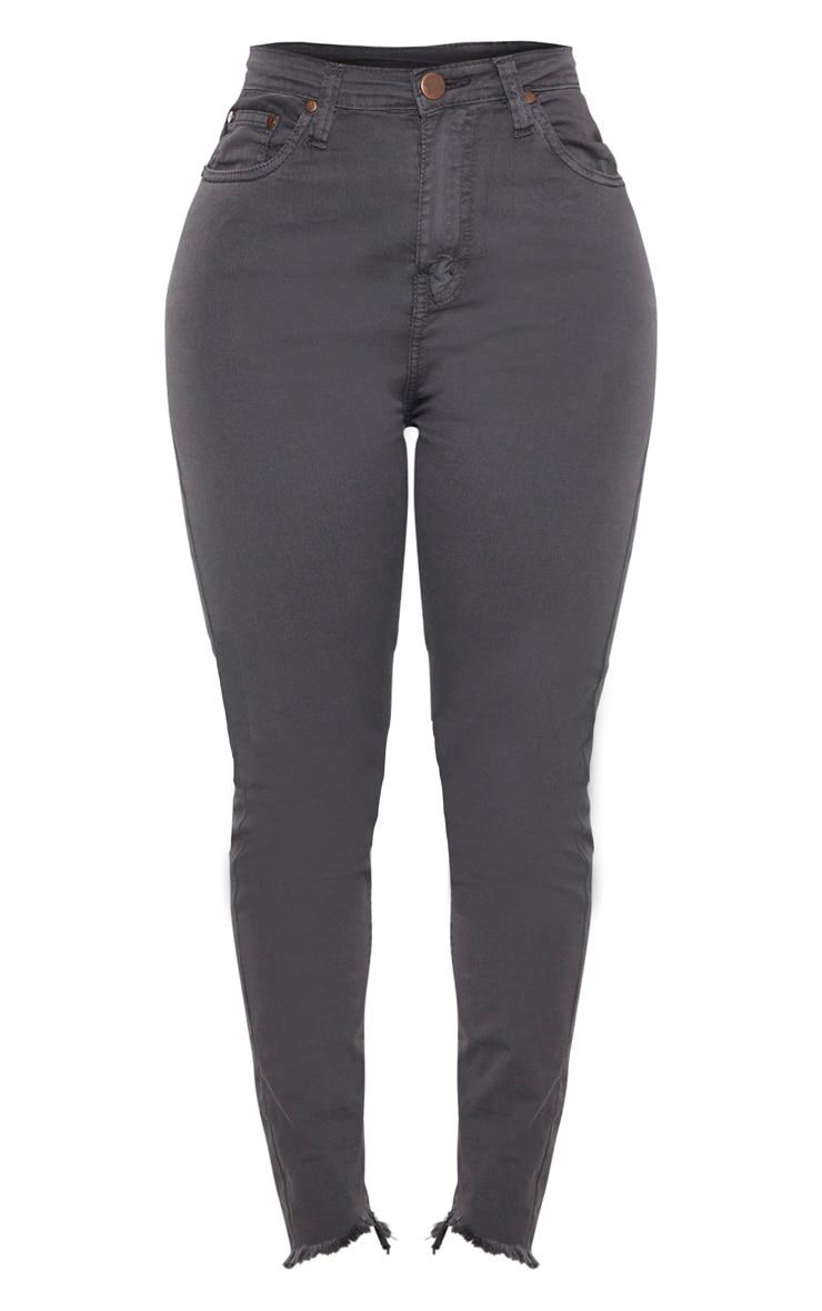 Shape Charcoal High Waist Skinny Jeans 3