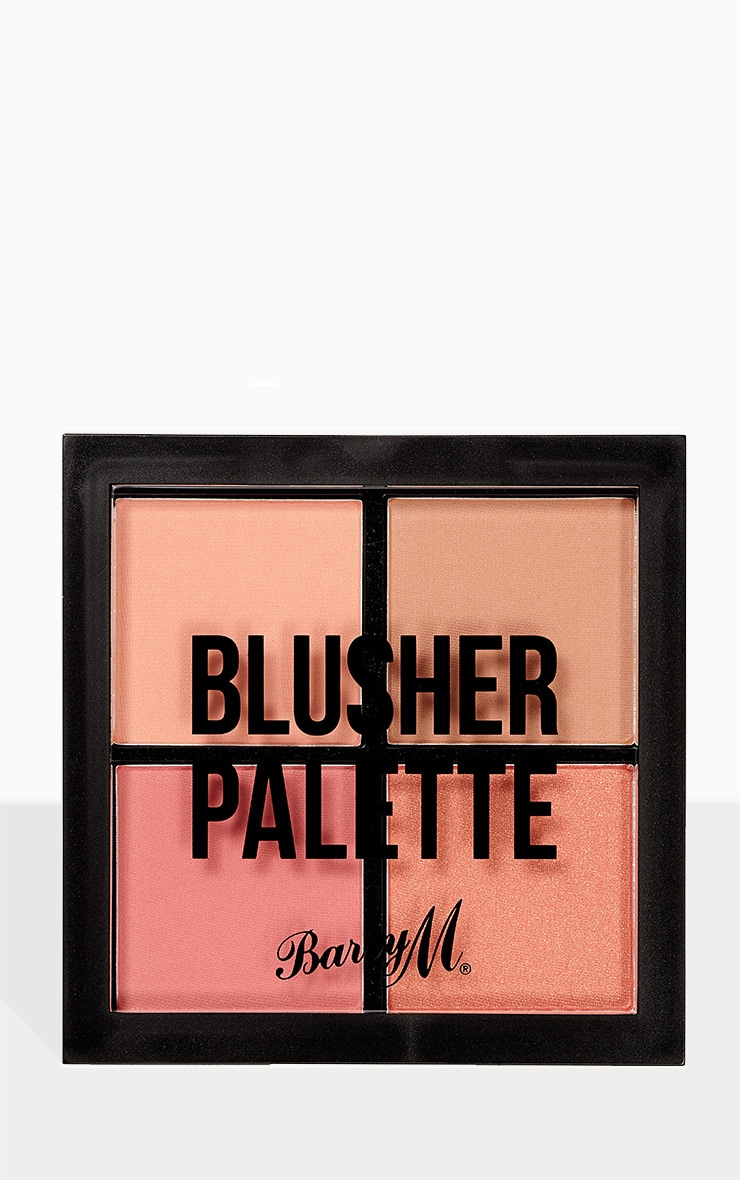 Barry M Blusher Quad Palette 1