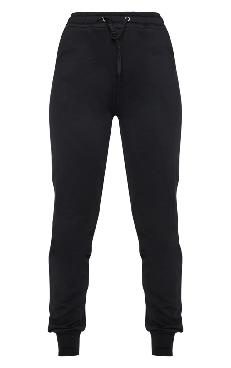 Black Basic Gym Sweat Jogger 3
