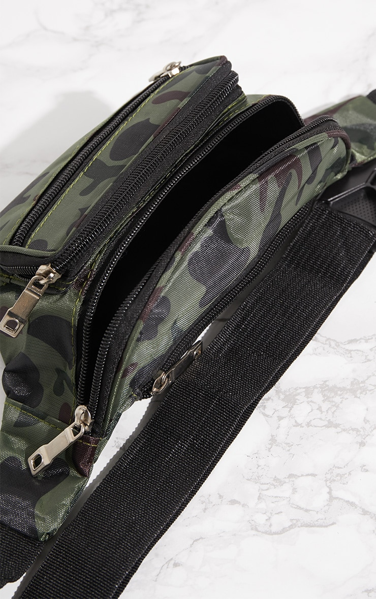 Camo Zip Bum Bag 5