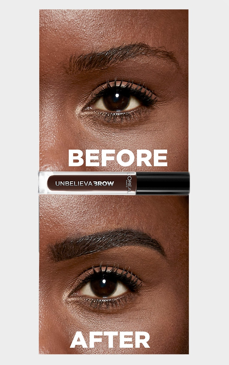 L'Oreal Paris Unbelieva'brow Long-Lasting Brow Gel 109 Ebony 3