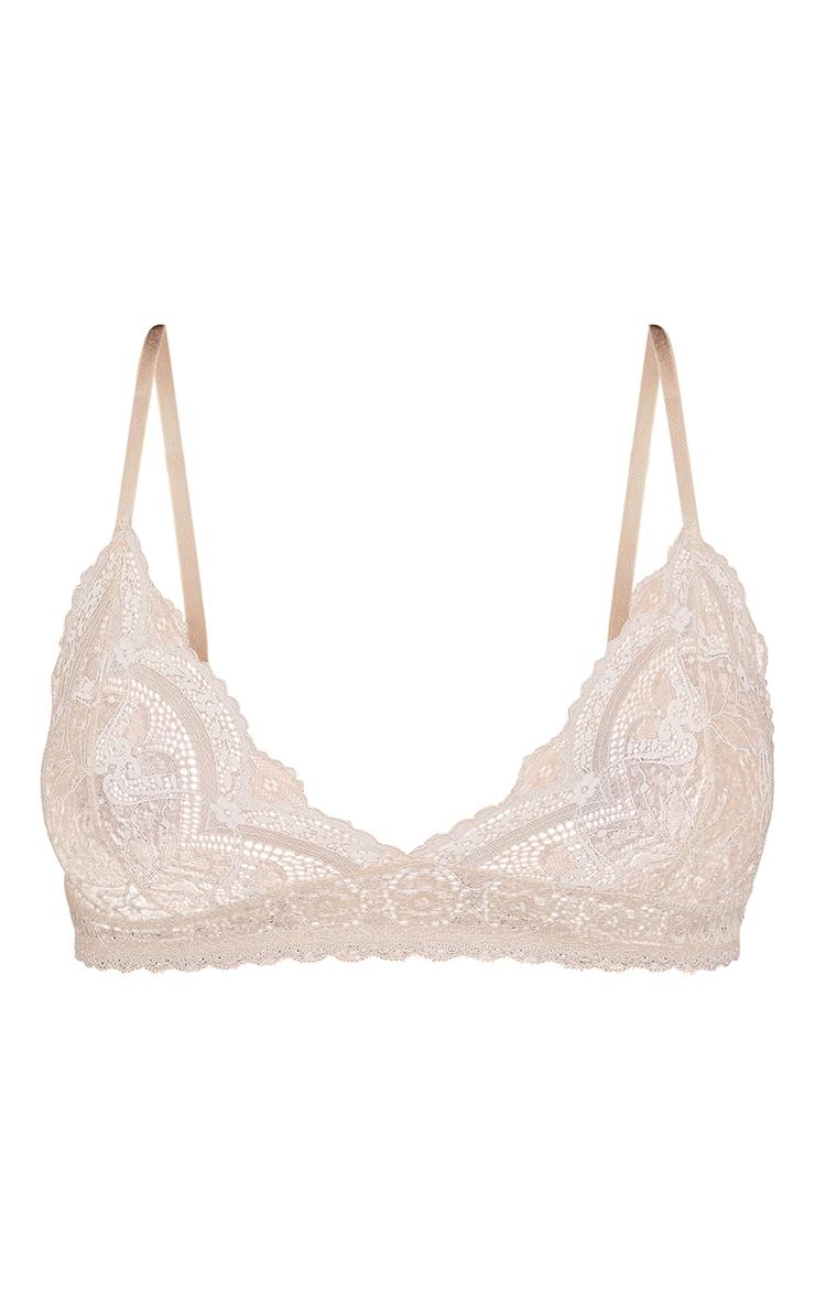 Nude Basic Lace Bra 5