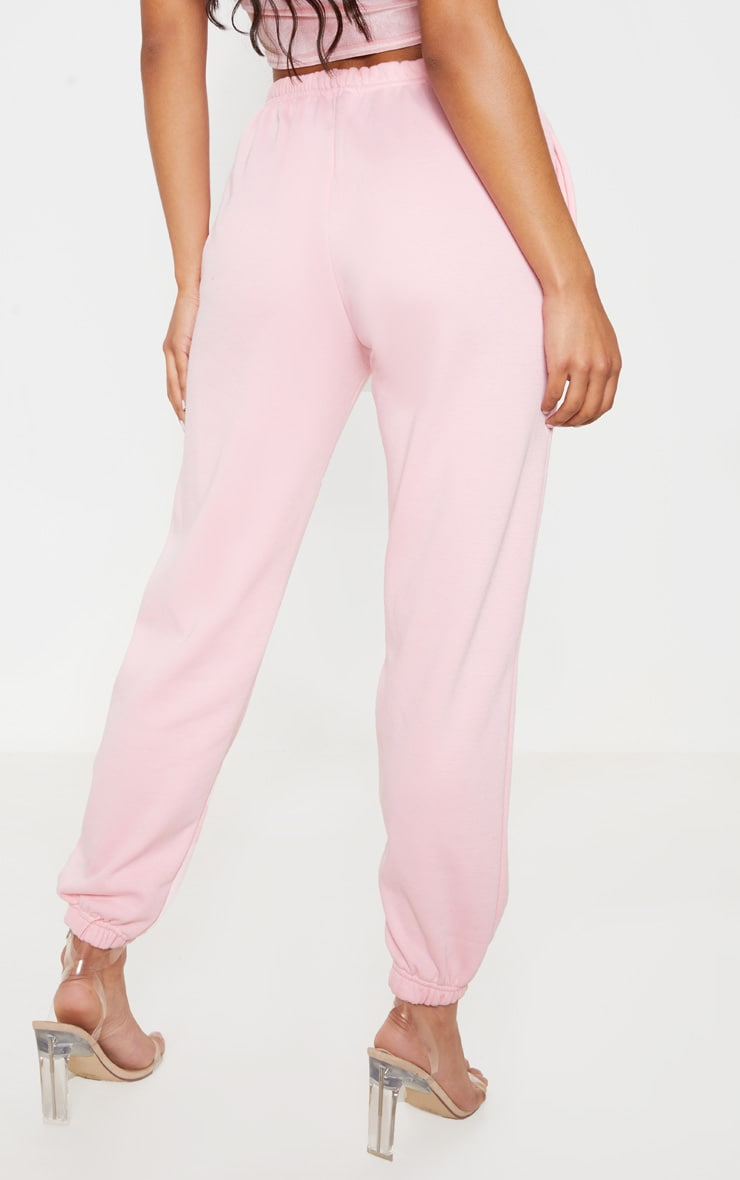 Pastel Pink Casual Jogger 4