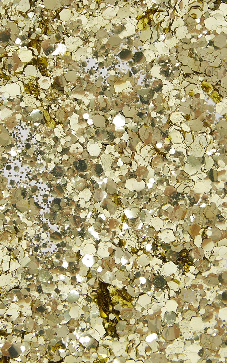 SHRINE Biodegradable Chunky Gold Glitter 3