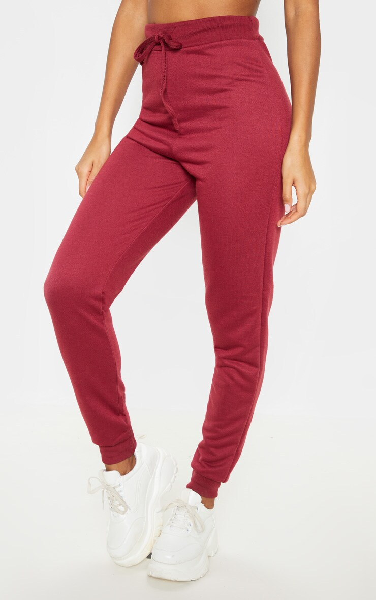 Burgundy Ultimate Sweat Joggers 2