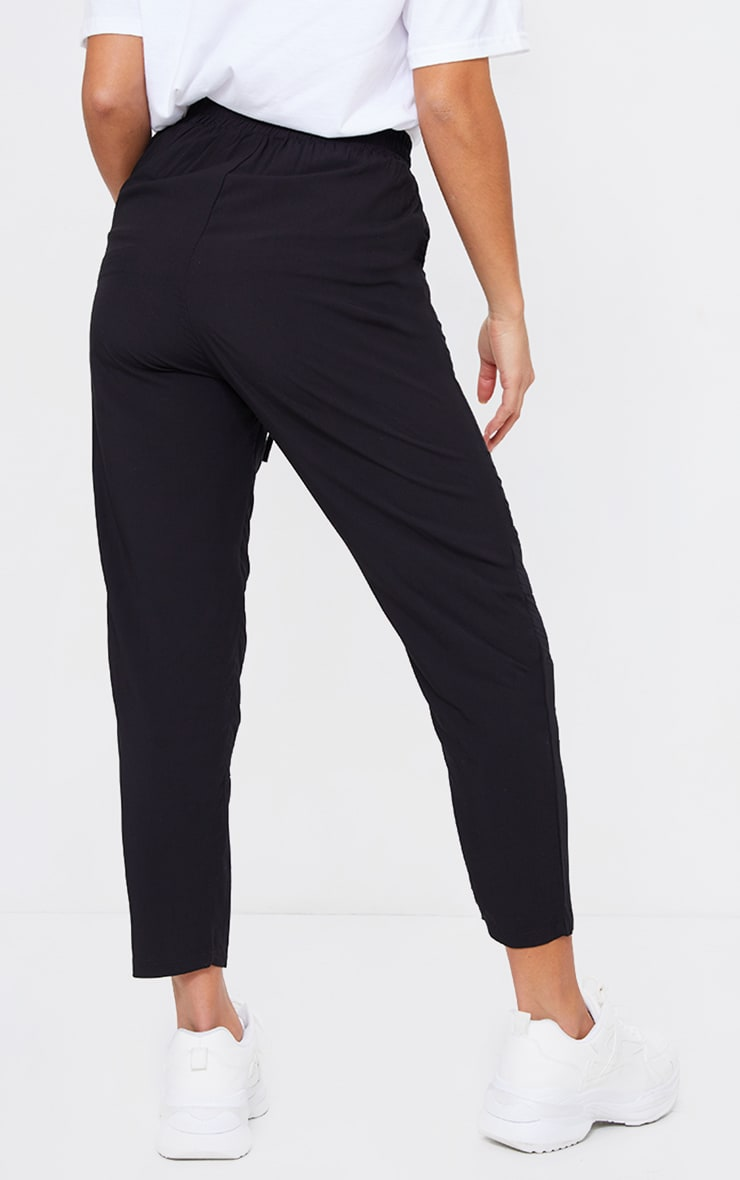 Petite Black Casual Trousers 3