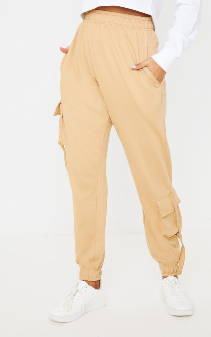Biscuit Cargo Detail Casual Joggers 2