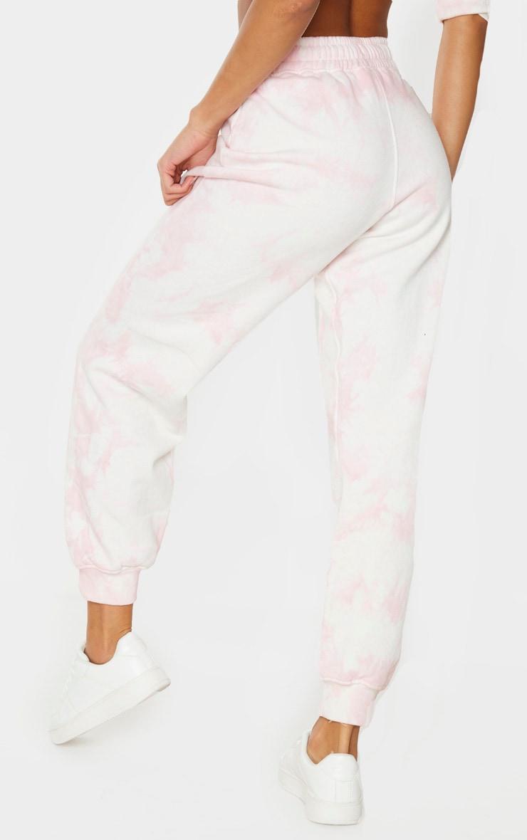 Light Pink Tie Dye Joggers 3