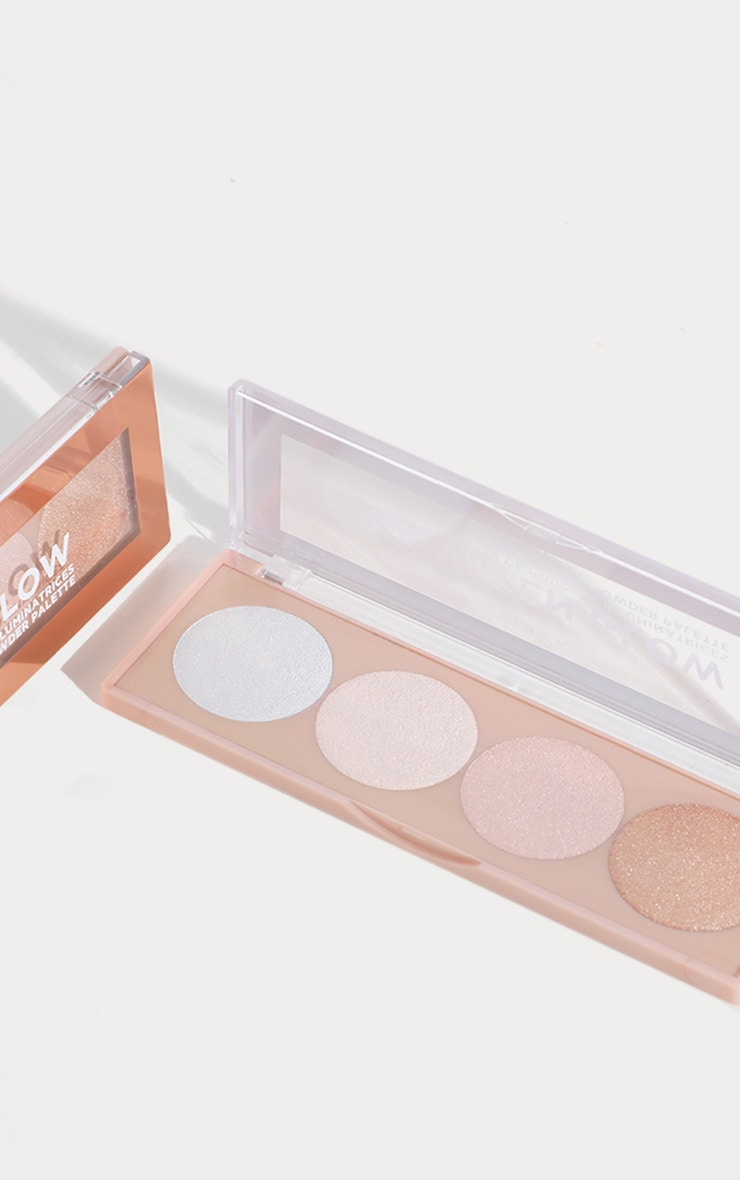 L'Oréal Paris La Vie En Glow Highlighting Powder Palette Cool Glow 2