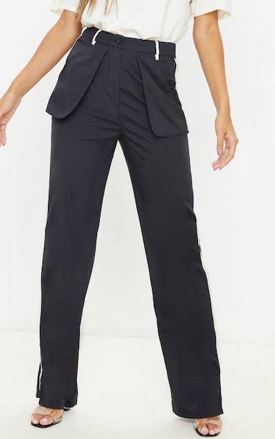 Black Inside Out Pocket Trouser