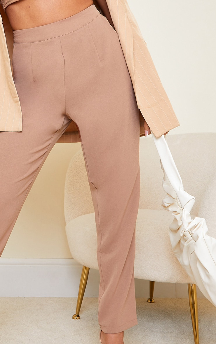 Taupe Tailored Pants 4