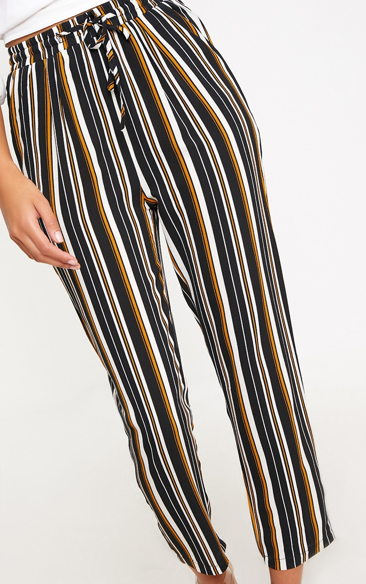 Yellow Stripe Casual Trousers 5
