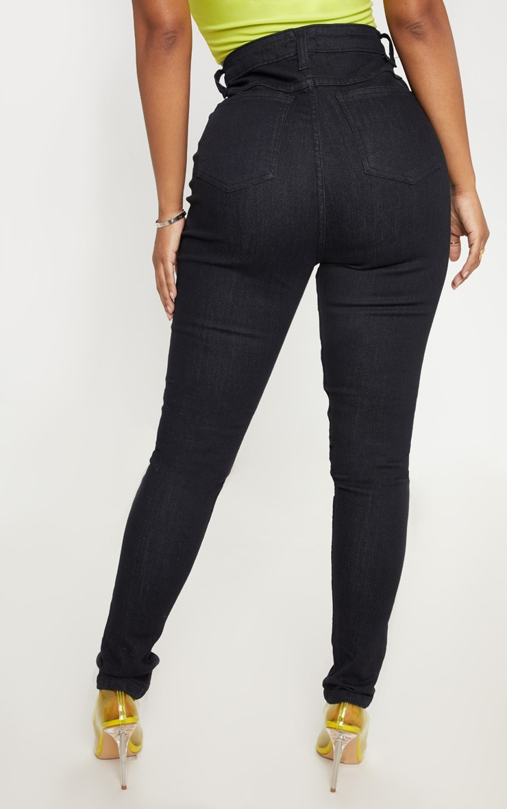 Shape Black High Waist Skinny Jean 4