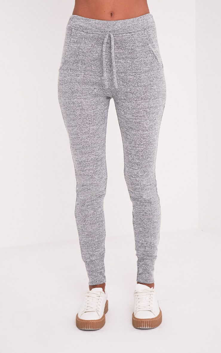 Haree Grey Casual Tracksuit Bottoms 2