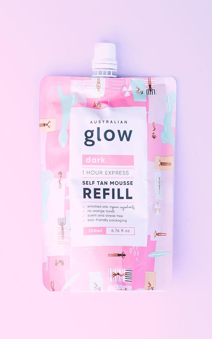 Australian Glow One Hour Express Self Tanning Mousse Refill Dark 3