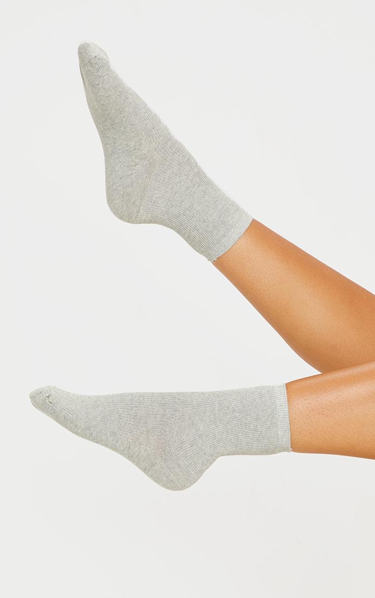 Grey Sports Sock 1