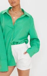 Green Oversized Cuff Shirt 4