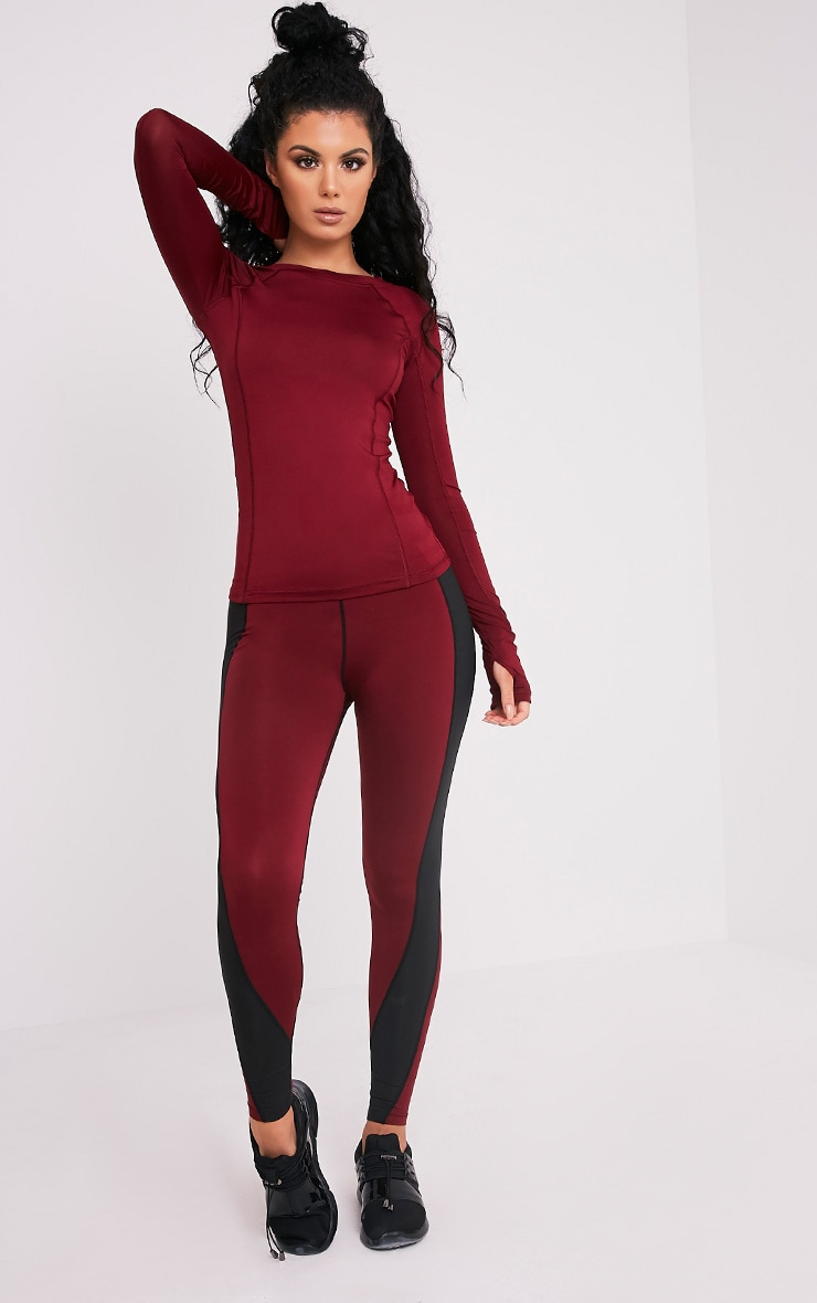 Siania Berry Long Sleeve Gym Top 5