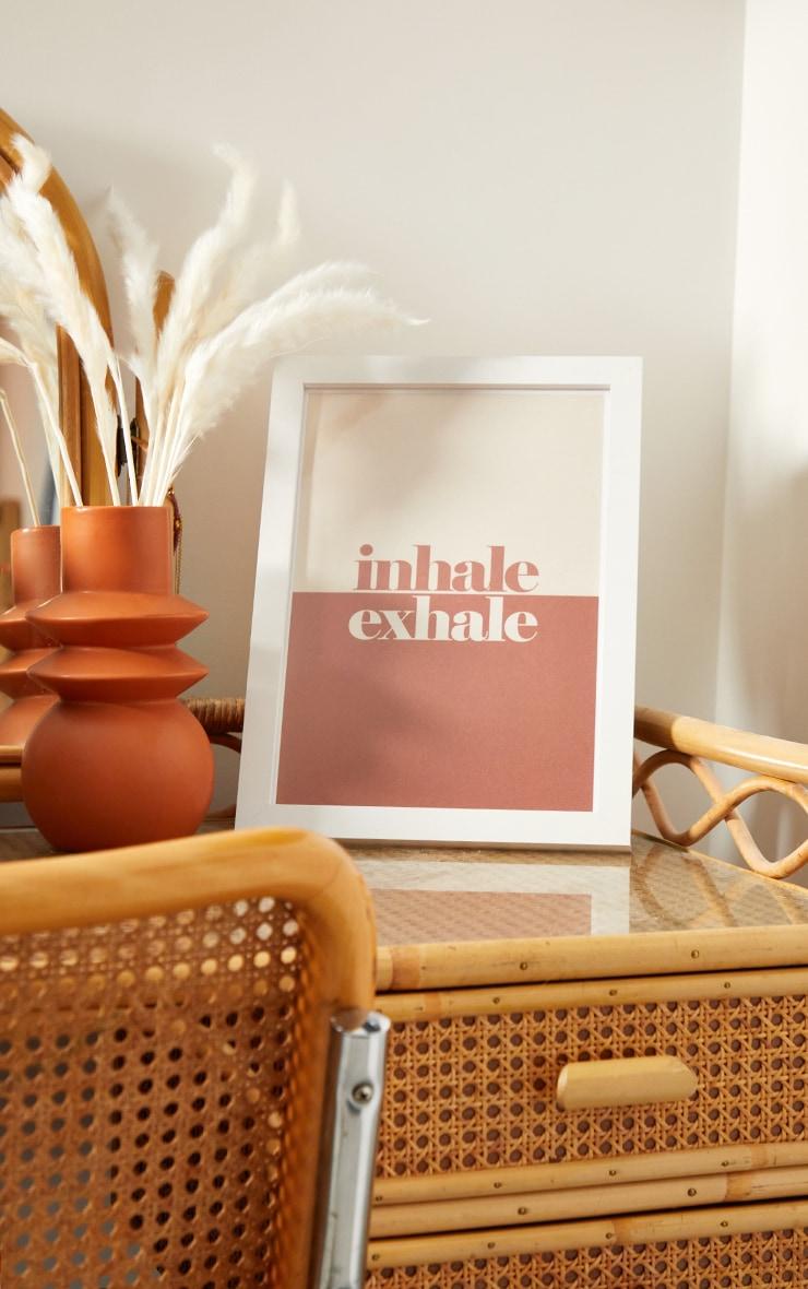 Exhale A4 Recycled Peechy Print 3