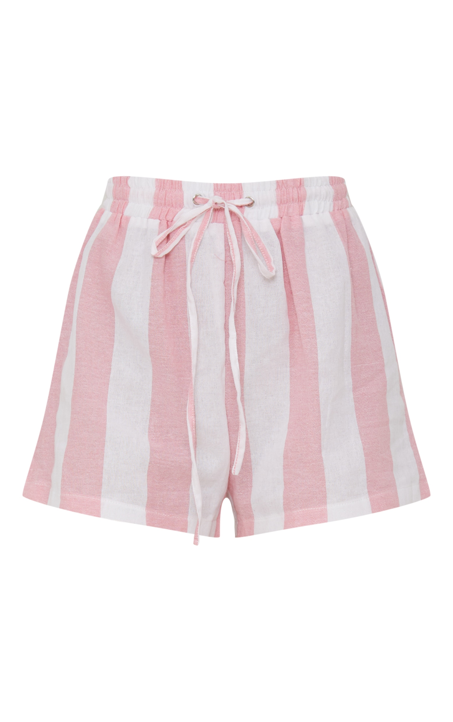 Pink Cotton Candy Stripe Shorts 3