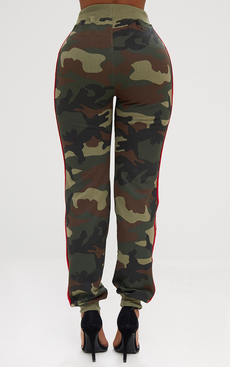 Shape Camo Side Stripe Joggers 4