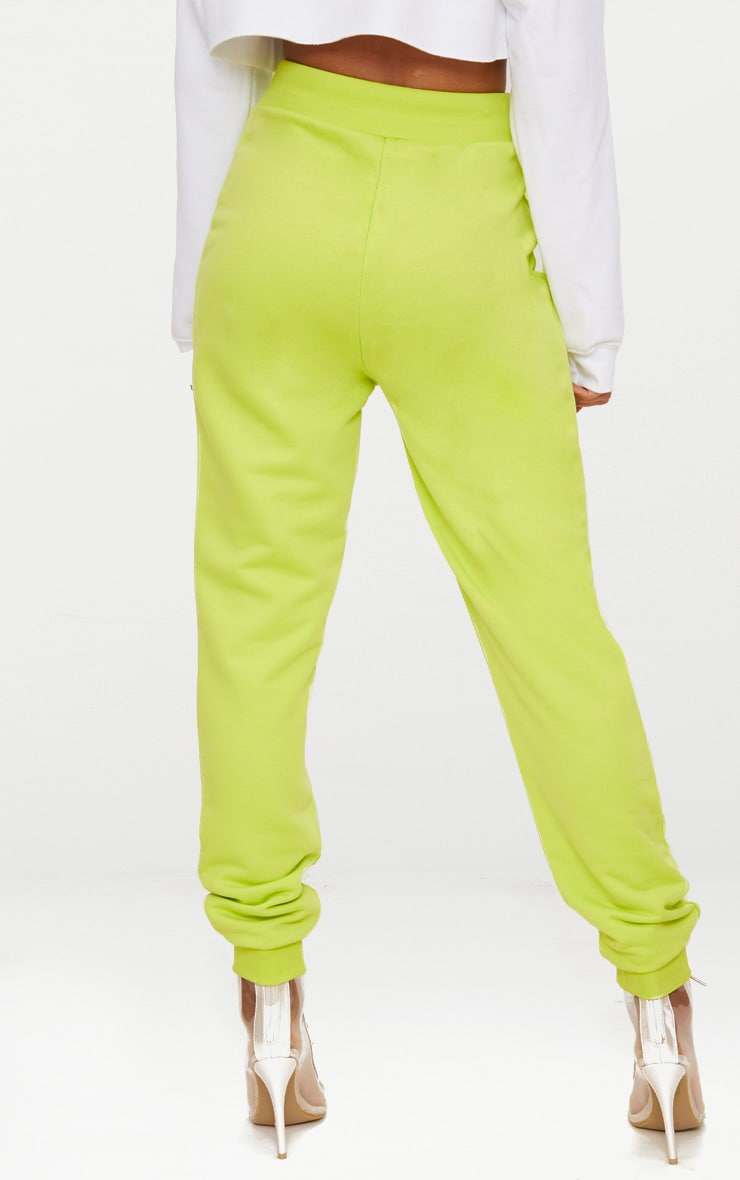 Lime Ultimate Sweat Joggers 4