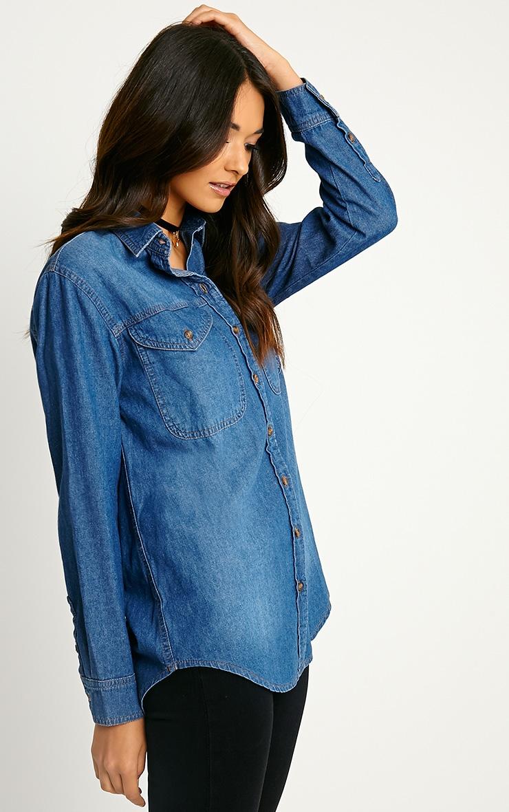 Loida Denim shirt 4