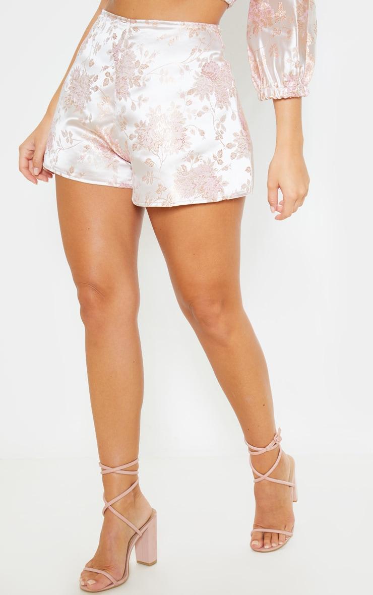 Pink Print Floaty Shorts 2