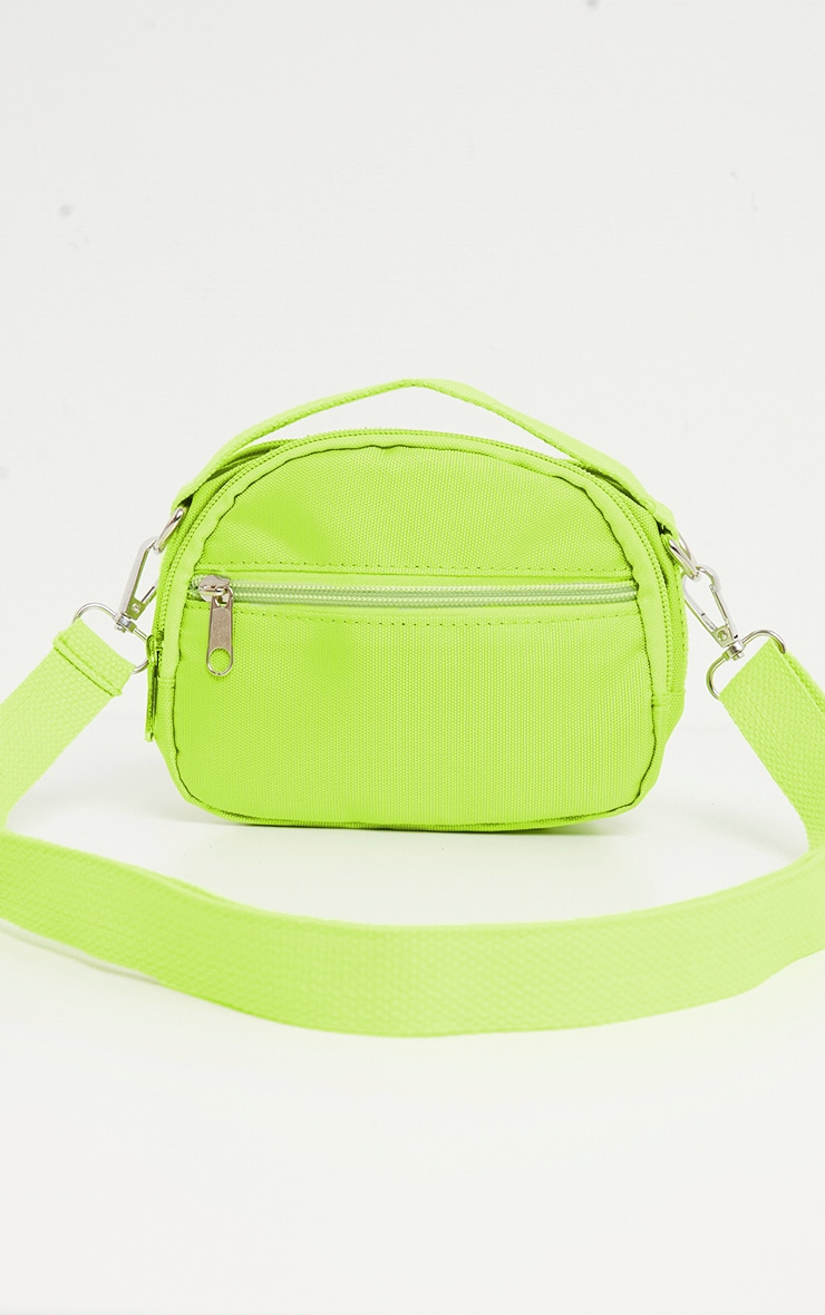 Lime Nylon Mini Bag 3