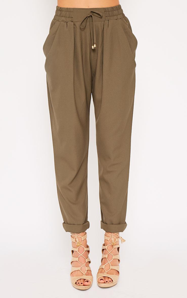 Hilda Khaki Trousers 3