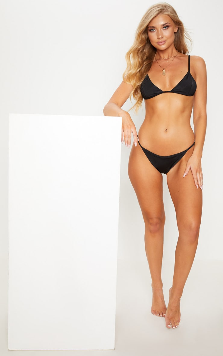 Black Mix & Match Itsy Bitsy Bikini Bottom 5