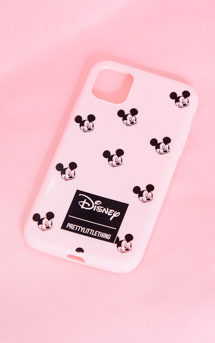 PRETTYLITTLETHING Pink Mickey Mouse iPhone 11 Case 1