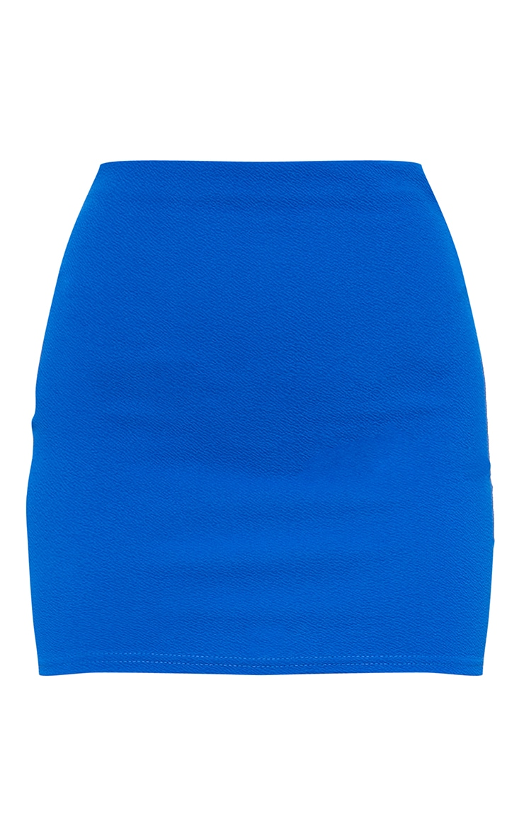 Cobalt Mini Suit Skirt 6